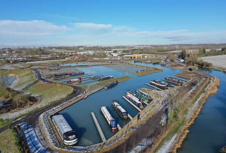 North Kilworth Marina - aerial 4